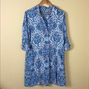 Lilly Pulitzer Dresses - Nwot Lilly Pulitzer Lilith Shirtdress resort white
